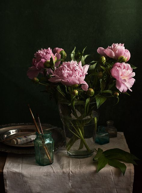 Smell of Peonies   Flickr - Photo Sharing! By Yulia Pletinka.