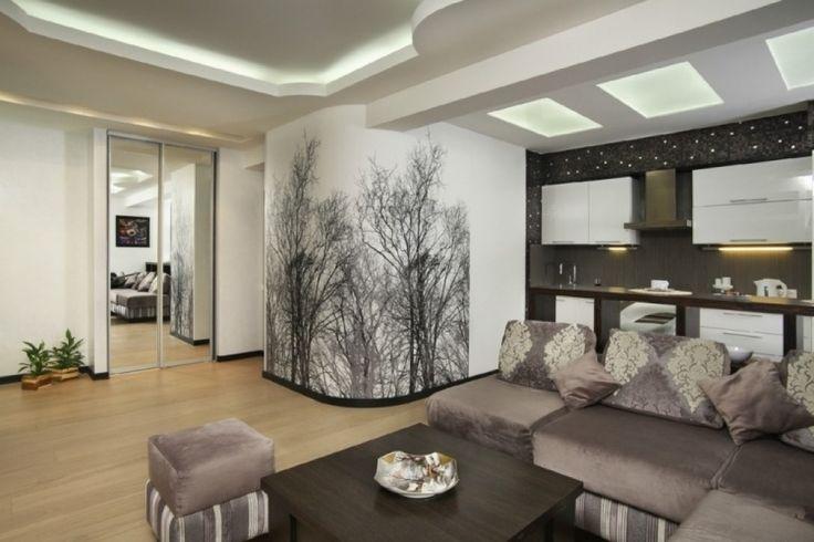 wohnzimmer modern tapezieren wohnzimmer wande tapezieren ideen laublose baume wohnkueche. Black Bedroom Furniture Sets. Home Design Ideas