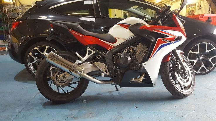 HONDA CBR650F 2014-2016 exhaust Decat, workshop service Burscough Lancs L40 8TG  #Unbranded