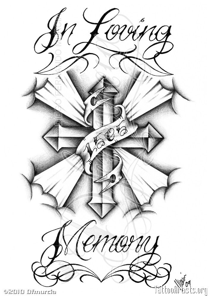 Chicano Art Drawings Roses | In Loving MemoryCustom tattoo request. © DFMURCIA Diego F. Murcia