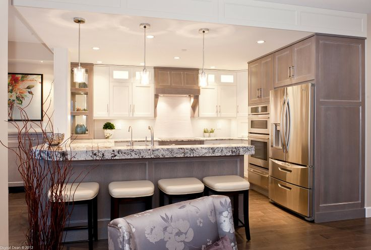 55 best white washed ish images on pinterest kitchen for Bleached maple kitchen cabinets