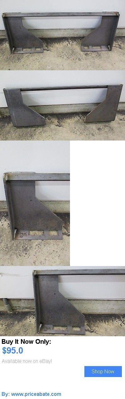 heavy equipment: Hd 5/16 Quick Attach Attachment Mount Plate Skid Steer Bobcat Skid Steer Us Made BUY IT NOW ONLY: $95.0 #priceabateheavyequipment OR #priceabate