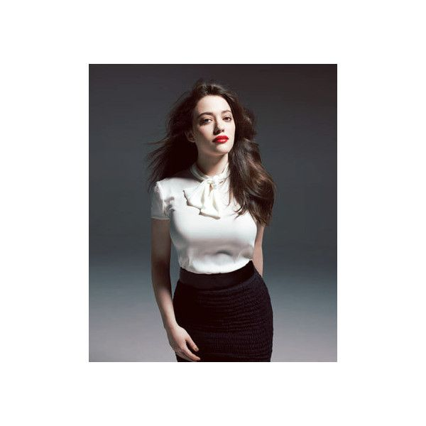 Kat Dennings ❤ liked on Polyvore featuring kat dennings
