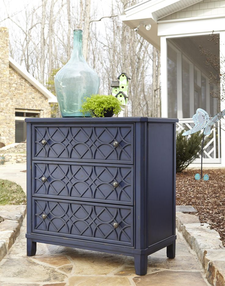 trisha yearwood home gwendolyn 3 drawer accent chest - Bedroom Furniture Chest
