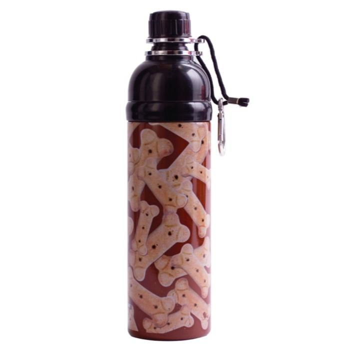 A cleverly designed bottle with a range of features making it the perfect portable water bottle for dogs, the Long Paws Pet Water Bottle is great for exercise days, walks, camping trips, days in the outdoors, pet shows, grooming days and even if you are on a horse or bicycle as you can give your dog water without having to dismount.