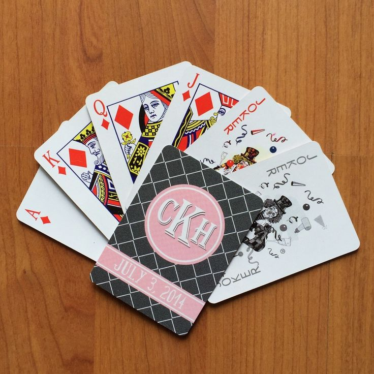 Pres 25 Nejlepsich Napadu Na Tema Personalized Playing Cards