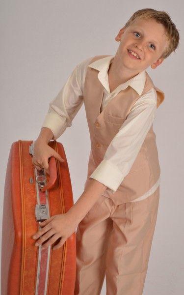 Boys vintage inspired suit #beigesuit #suitsale #boyssuit #sale #vintagesuit #kidsformalwear #boysformalwear