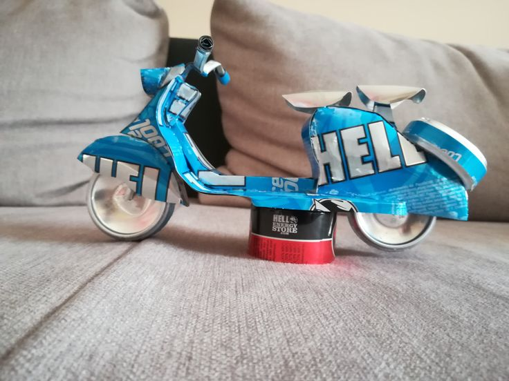 Hell Lambretta Scooter 150 (soda can)