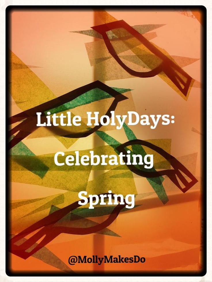 Molly Makes Do: Little HolyDays: Celebrating Spring