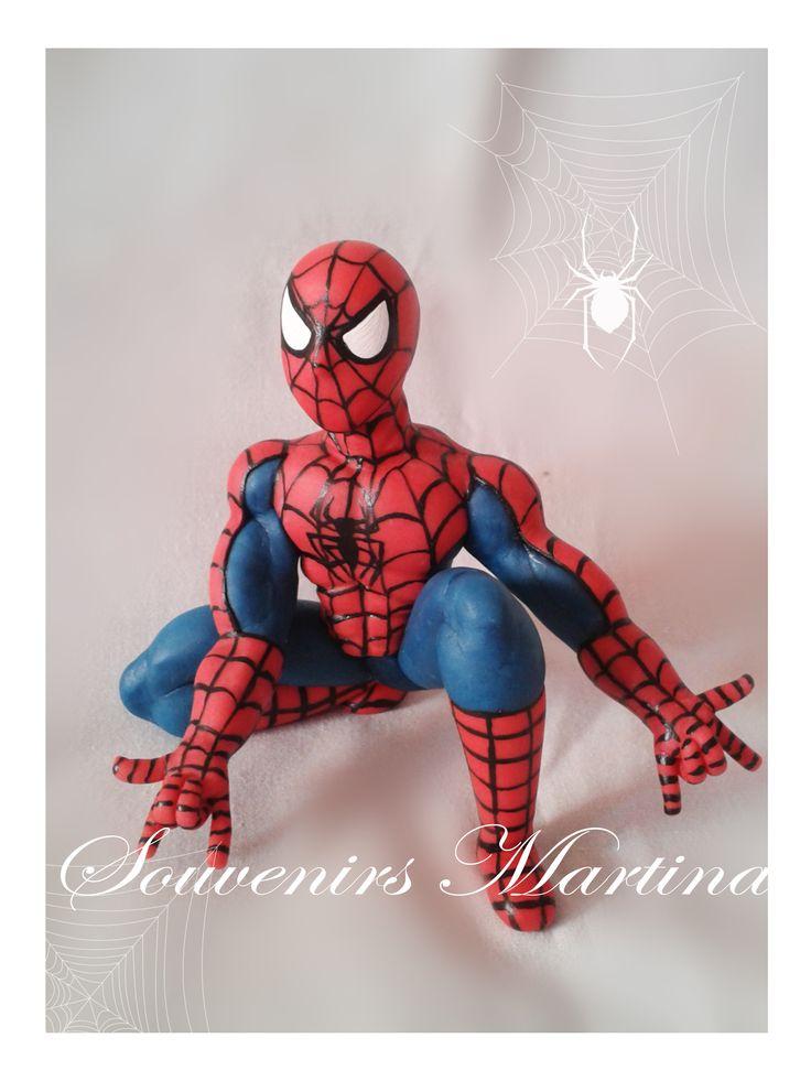 Adorno hombre araña