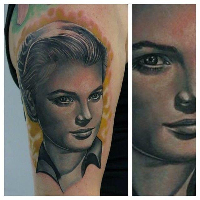 Tattoo Woman Portrait: 64 Best Tattoos By Phatt German Images On Pinterest