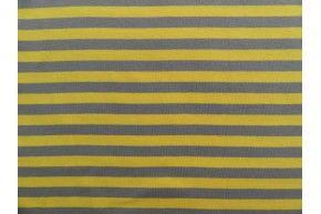 Strepen geel/grijs
