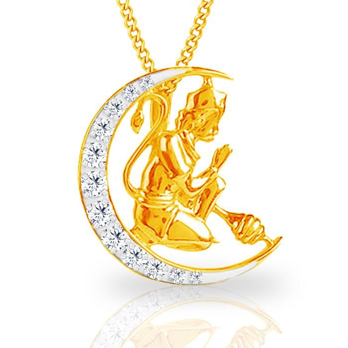 Lord Hanuman is one of the worshipped lords in India He is known for his power and you will find this religious pendent with many designs in India online. Buy diamond hanuman pendant @jacknjewel