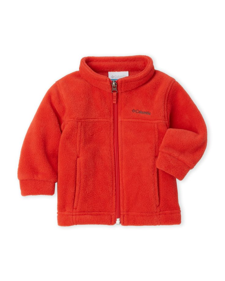 Columbia (Newborn/Infant Boys) Steens Zip-Up Fleece Sweatshirt
