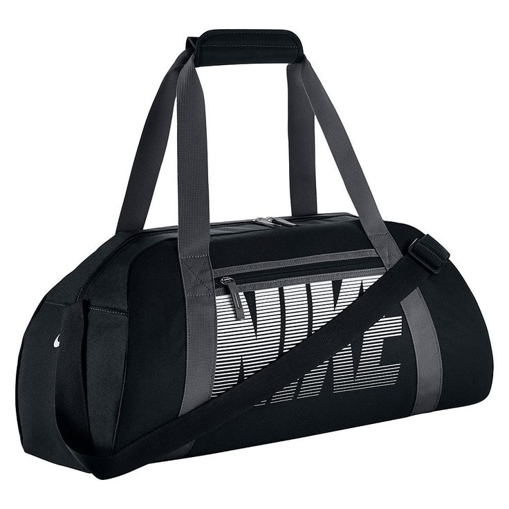 Nike Womens 22-Inch Gym Club Duffel Bag, Dark Grey