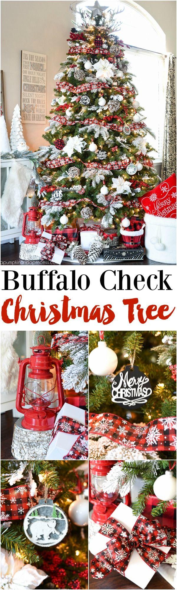 Buffalo Check Christmas Tree - Michaels Dream Tree MichaelsMakers  A Pumpkin And A Princess