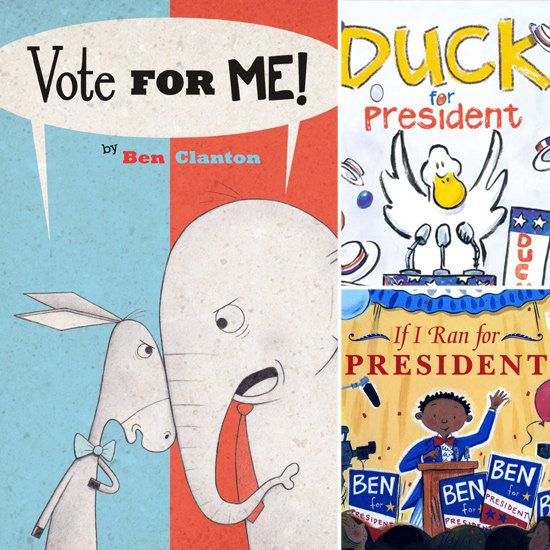6 Books about the Election For Kids. This is a great way to make elections relatable to students.