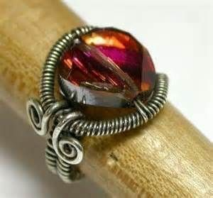wire wrapped ring tutorial - Bing Images