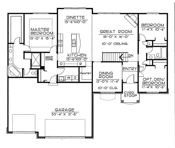 69 best a possible floor plan 1600-1900 square feet images on