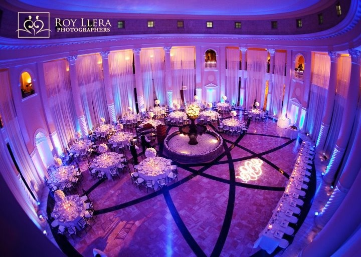 Amazing And Stunning Wedding Reception With Draping Lightscaping Photography Credit To Roy Llera