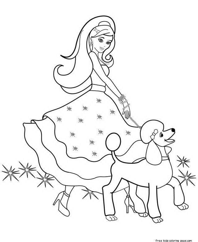 The 25+ best Barbie coloring pages ideas on Pinterest | Barbie ...
