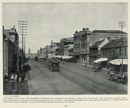 Main Street (Looking South), Port Elizabeth | South Africa by The National Archives UK