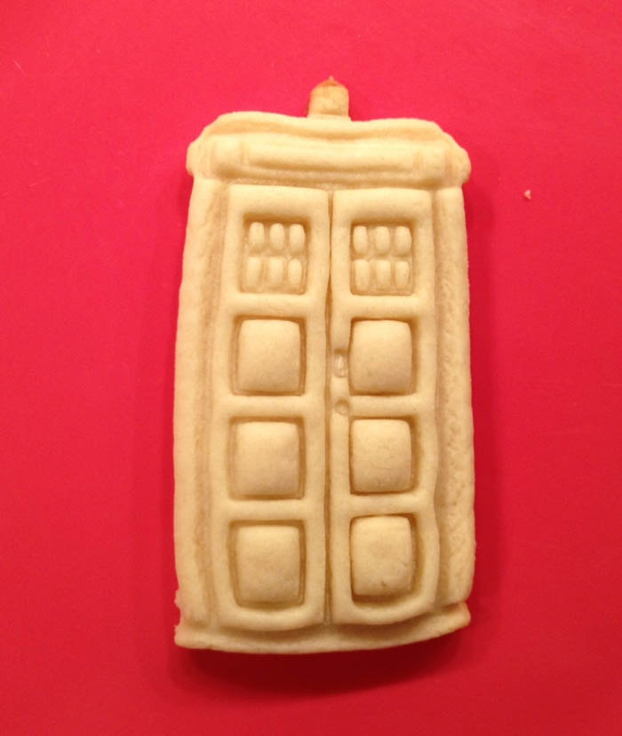 Dr Who Tardis Cookie Cutter by WarpZone on Etsy, $6.50