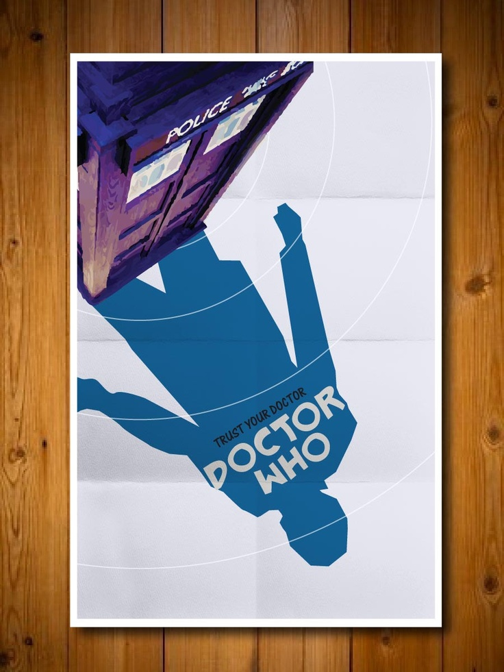 Doctor Who Movie Poster #NerdArt #Art #Technology #Poster #DrWho