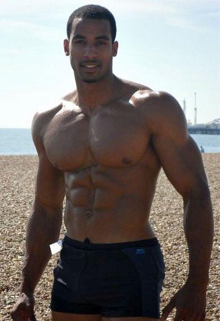 Huge black guy