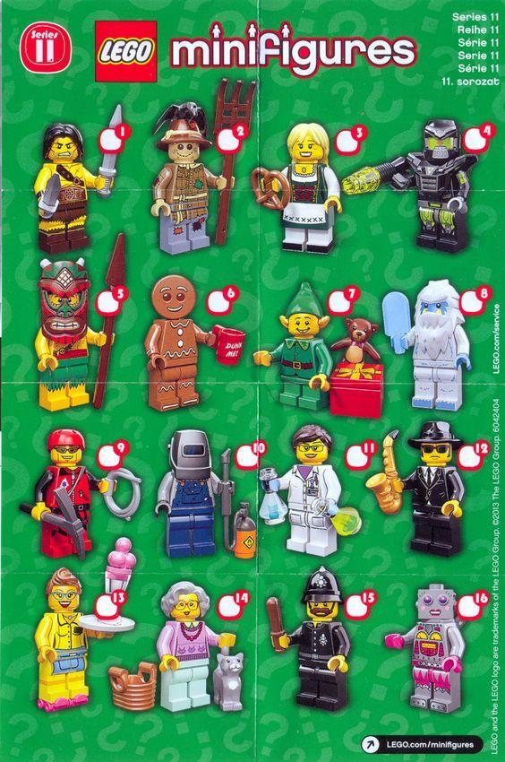 LEGO Series 11 Minifigures | LEGO Minifigure Series ...