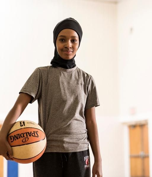 Sports Hijab- MN Alumni Market (where all products are made by U of Minnesota alumni)