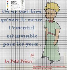 Point de croix Petit prince