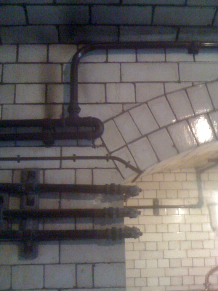 Victorian tile and pipe work, Manchester