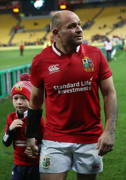 Rory Best Photos Photos - Rory Best of the Lions walks off the pitch following the 31-31 draw during the 2017 British & Irish Lions tour match between the Hurricanes and the British & Irish Lions at the Westpac Stadium on June 27, 2017 in Wellington, New Zealand. - Hurricanes v British & Irish Lions