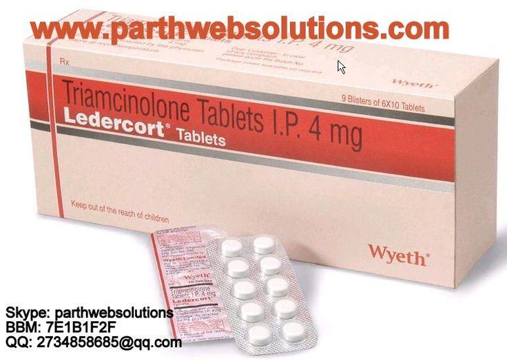 Ledercort (Triamcinolone Tablets)