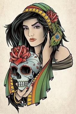 Sam Phillips tattoo art