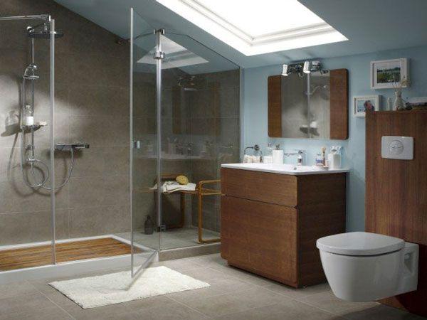 18 best Meubles salle de bain images on Pinterest Master bathroom - hauteur robinet douche italienne