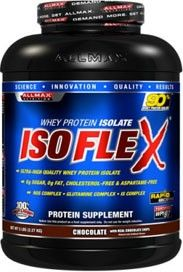 Allmax Nutrition IsoFlex Whey Isolate Protein 5 Lbs - Free Shipping
