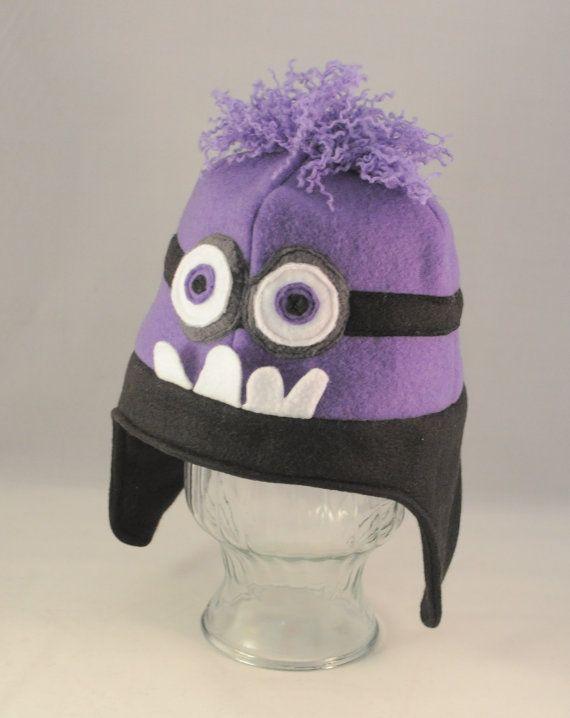 Purple Minion Fleece Hat