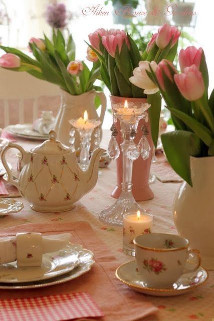 Afternoon tea party by Aiken House & Gardens