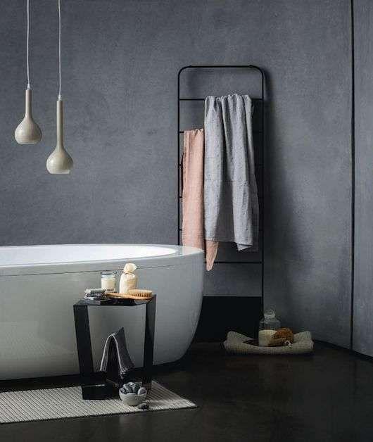 moderne industriële badkamer - industrial style