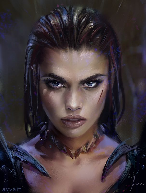 """Gaze"" by Aleksei Vinogradov on DeviantArt."