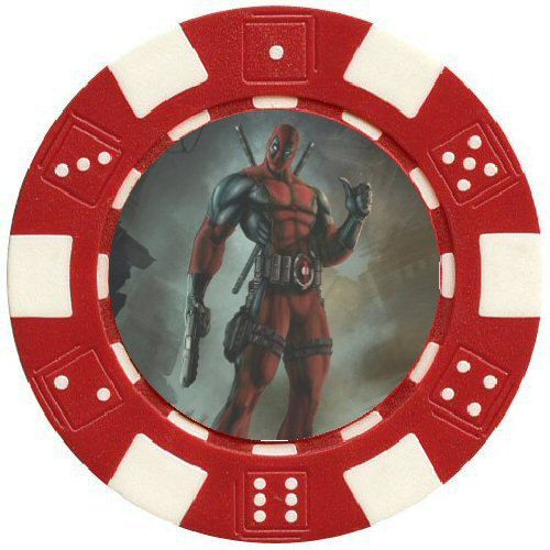 Deadpool #Marvel #Comics Collectible Poker Chip Card Guard in #case. Custom Poker,  View more on the LINK: 	http://www.zeppy.io/product/gb/3/240372023/