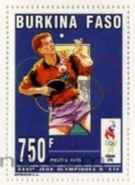 Burkina Faso-Olimpíadas Atlanta 1996-Tennis de mesa