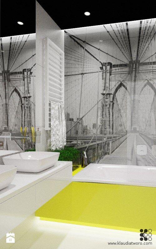 Łazienka styl Nowoczesny - zdjęcie od Klaudia Tworo Projektowanie Wnętrz - Łazienka - Styl Nowoczesny - Klaudia Tworo Projektowanie Wnętrz