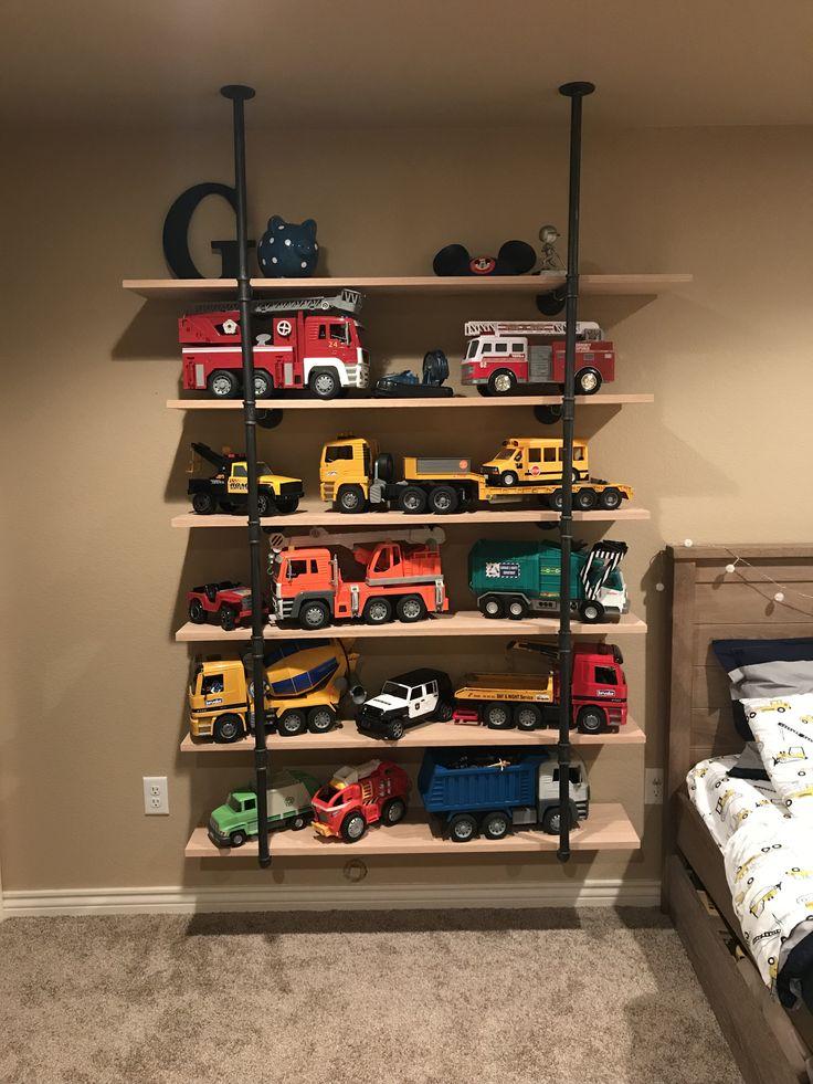 Best Truck Storage Bruder Trucks Shelves Toy Storage Boy Room 400 x 300