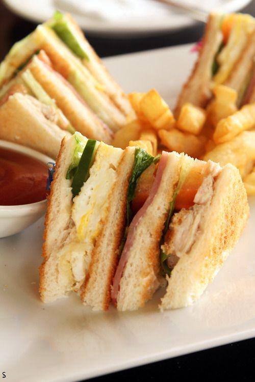 classic club house sandwich   Scrumptious   Pinterest