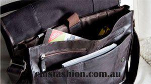 Leather Bag #leatherbag #leather #mensbags #fashion #menswear #leathersidebag #leathercarrybag #bags www.cmsfashion.com.au