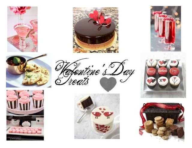 """Valentine's Day Treats"" by gothicvamperstein on Polyvore featuring art"