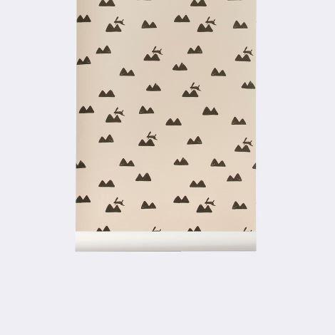 Rabbit Wallpaper by Ferm Living – The Modern Shop